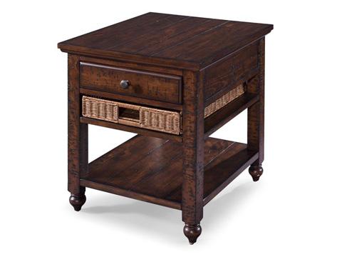 Magnussen Home - Rectangular End Table - T3521-03
