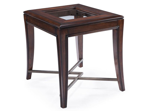 Magnussen Home - Rectangular End Table - T3723-03