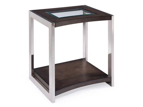 Magnussen Home - Rectangular End Table - T3729-03
