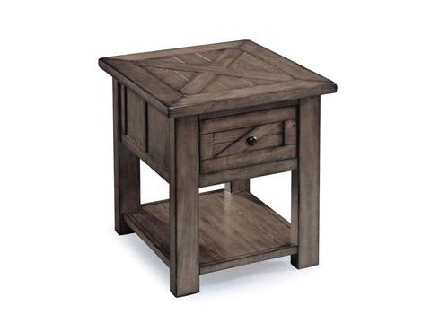 Magnussen Home - Rectangular End Table - T3778-03