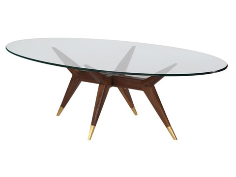 Magnussen Home - Powell Oval Cocktail Table - DT-9034-47