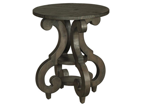 Image of Bellamy Round Accent End Table