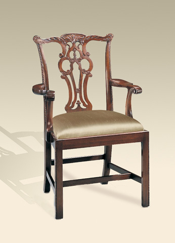 Maitland-Smith - Chippendale Arm Chair - 4131-059