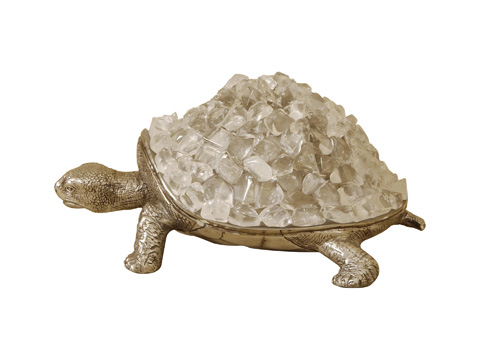 Maitland-Smith - Cast Brass Turtle - 1047-155