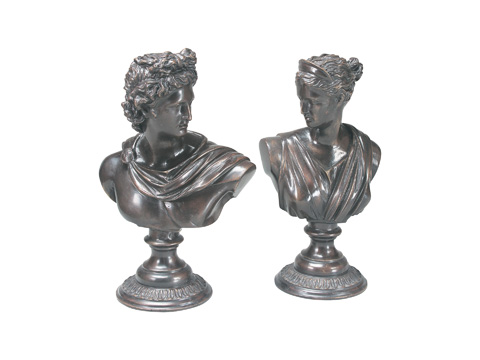 Maitland-Smith - Pair of Roman Busts - 1053-156