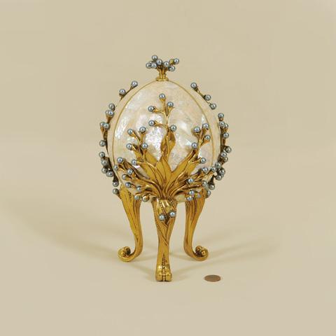Maitland-Smith - Decorative Inlaid Egg - 1054-265