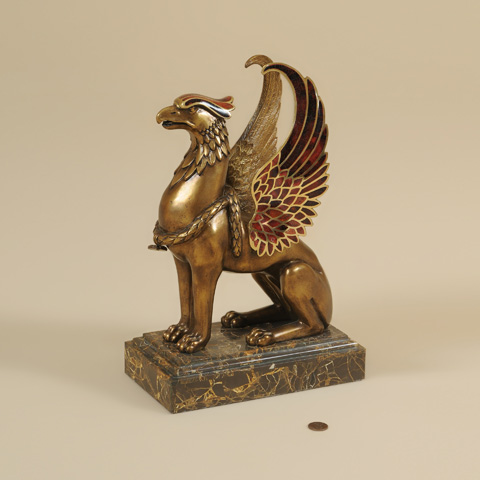 Maitland-Smith - Cast Brass Griffin - 1054-296
