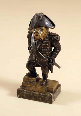 Maitland-Smith - Brass Canine Napoleon - 1058-330