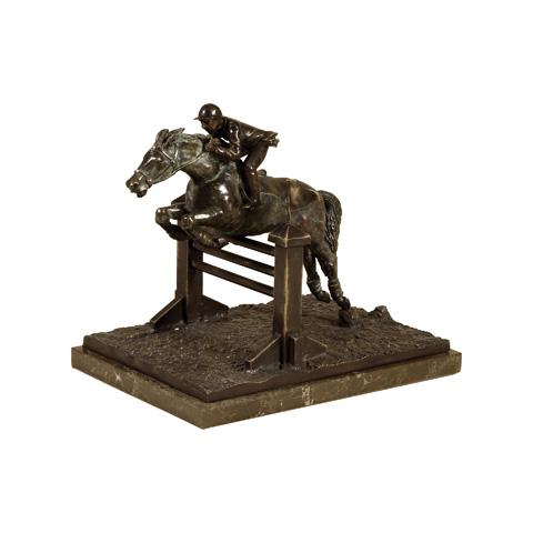 Maitland-Smith - Brass Equestrian Figure - 1058-332