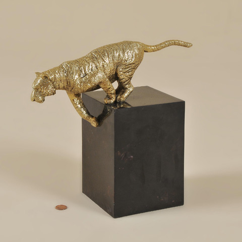 Maitland-Smith - Cast Brass Tiger - 1059-275