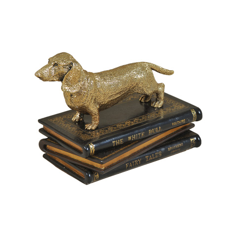 Maitland-Smith - Cast Brass Dachshund - 1059-294