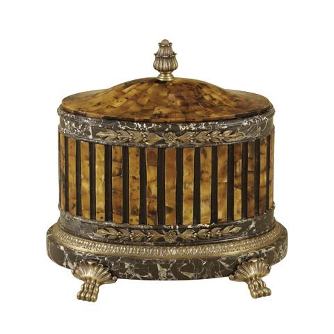 Maitland-Smith - Penshell and Stone Box - 1100-437