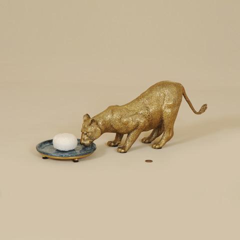 Maitland-Smith - Cast Brass Lion Soap Dish - 1254-339