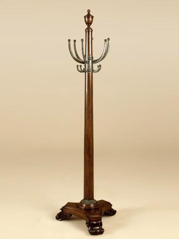 Maitland-Smith - Mahogany Coat Rack - 1330-262