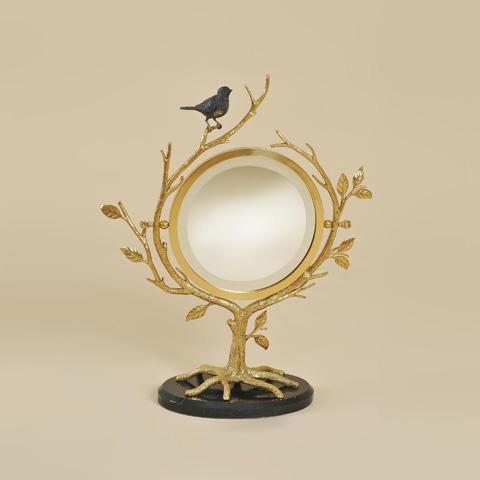 Maitland-Smith - Cast Brass Vanity Mirror - 1354-278
