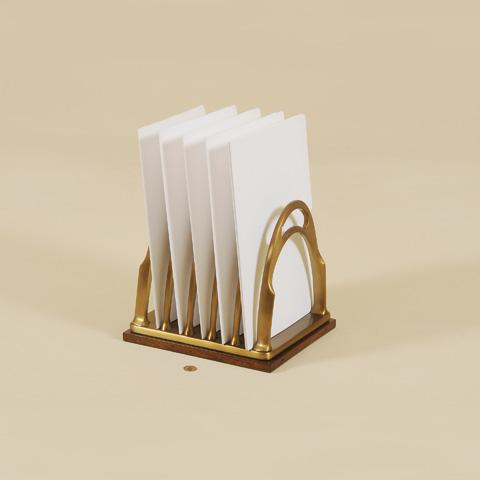 Maitland-Smith - Brass Desk Top File Holder - 1354-291