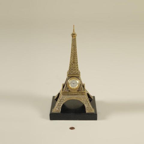 Maitland-Smith - Cast Brass Eiffel Tower Clock - 1358-073