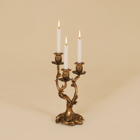 Maitland-Smith - Three Arm Brulee Candlestick - 1654-716