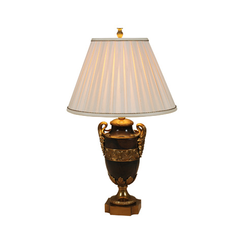 Maitland-Smith - Brown Penshell Urn Table Lamp - 1700-419