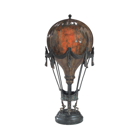 Maitland-Smith - Penshell Crackle Balloon Lamp - 1753-569
