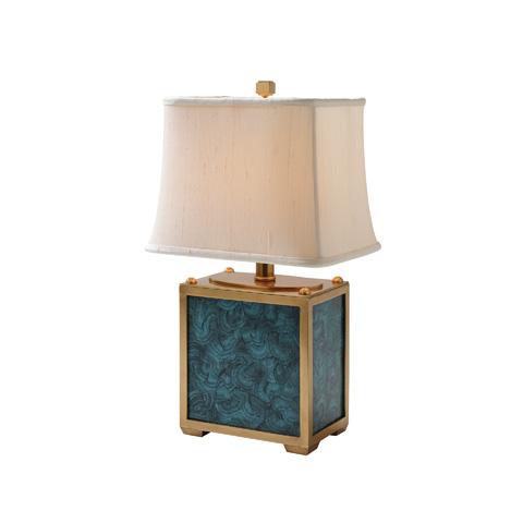 Maitland-Smith - Teal Malachite Table Lamp - 1754-861