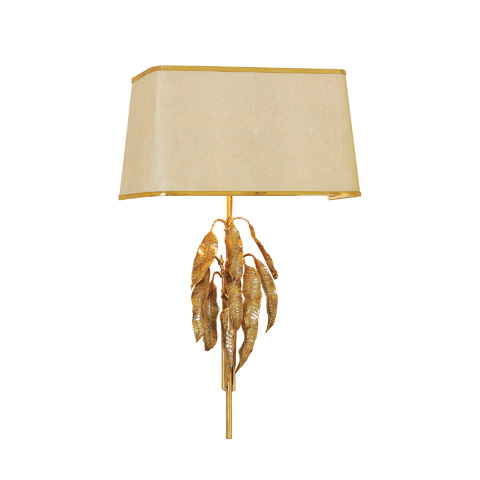 Maitland-Smith - Amber Leaf Wall Lamp - 1954-327