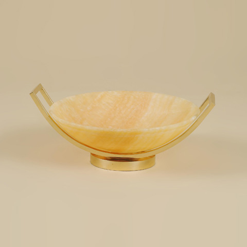Maitland-Smith - Onyx Stone Bowl - 2100-451
