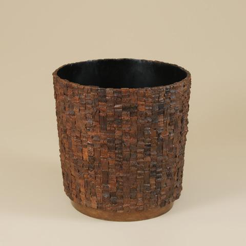 Maitland-Smith - Coco Bark Inlaid Planter - 2200-147