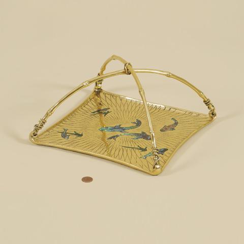 Maitland-Smith - Polished Cast Brass Tray - 2543-345