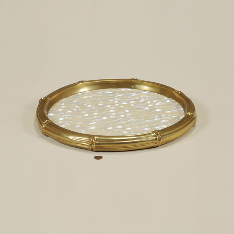 Maitland-Smith - Classic Finished Brass Tray - 2554-107