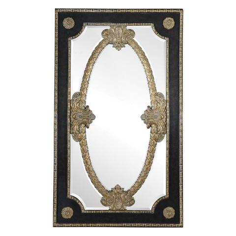 Maitland-Smith - Ambassador Leather Floor Mirror - 2830-445