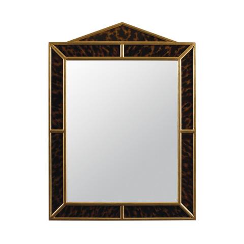 Maitland-Smith - Eglomise Faux Tortoise Mirror - 2843-479