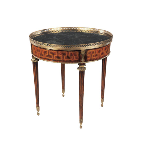Maitland-Smith - Mahogany & Marquetry Occasional Table - 3030-122