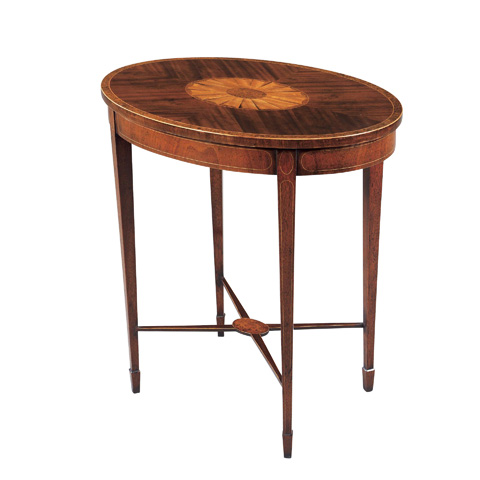 Maitland-Smith - Mahogany & Satinwood Hepplewhite Table - 3030-210