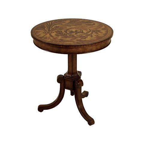 Maitland-Smith - Aged Regency Tripod Table - 3030-844