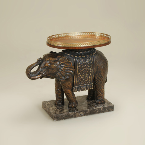Maitland-Smith - Painted Elephant Occasional Table - 3043-214
