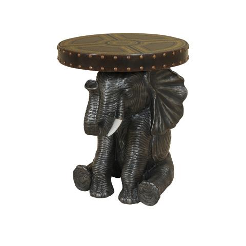 Maitland-Smith - Golden Grey Elephant Table - 3043-220
