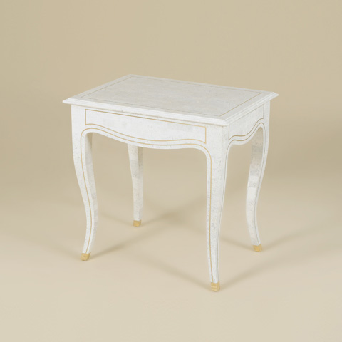 Maitland-Smith - Grey Agate Inlaid Table - 3200-074