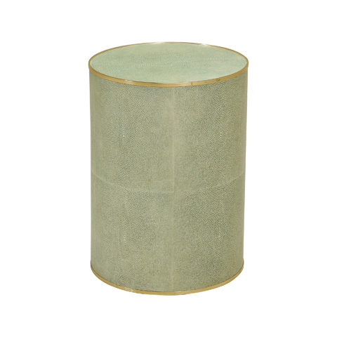 Maitland-Smith - Light Green Shagreen Leather Table - 3220-236
