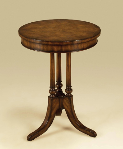 Maitland-Smith - Umber Brown Mahogany End Table - 3230-686
