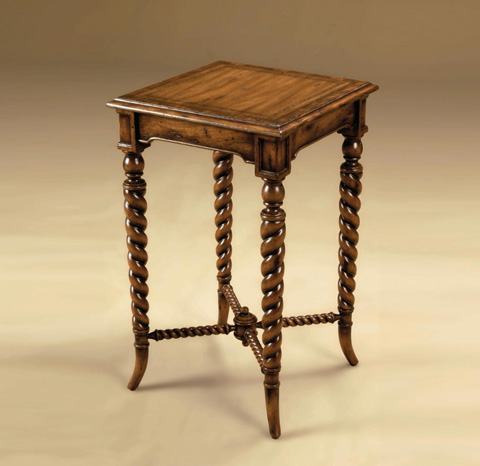 Maitland-Smith - Distressed Walnut Occasional Table - 3230-743