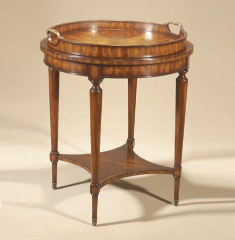 Maitland-Smith - Aged Regency Round Table - 3230-763