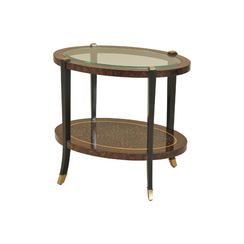 Maitland-Smith - Leopard Motif Occasional Table - 3230-879