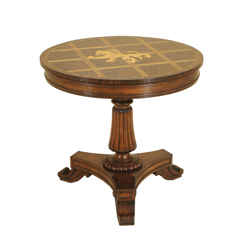 Maitland-Smith - Aged Regency Marquetry Table - 3230-917