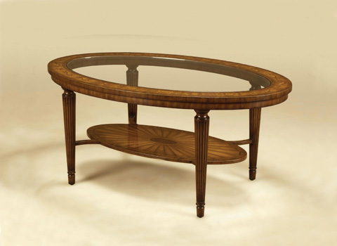 Maitland-Smith - Aged Regency Two Tier Cocktail Table - 3330-587