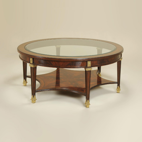 Maitland-Smith - Corsair Mahogany Cocktail Table - 3330-752