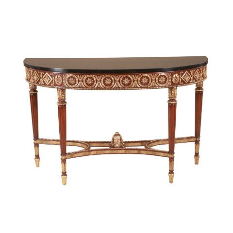 Maitland-Smith - Regency Mahogany Console Table - 3430-824