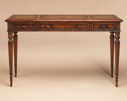 Maitland-Smith - Aged Regency Crotch Veneer Console Table - 3430-863