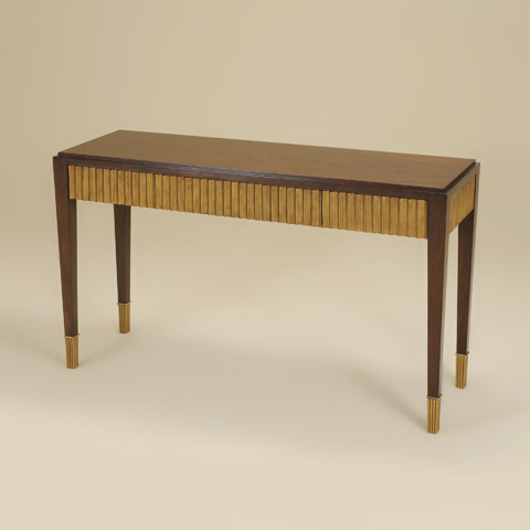 Maitland-Smith - Webster Walnut Console Table - 3430-989