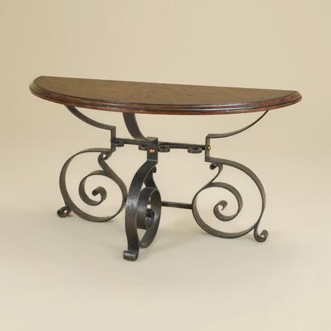 Maitland-Smith - Catalan Demilune Console Table - 3451-353